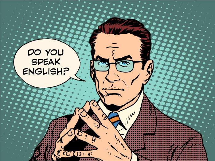 英語力があると役立つ